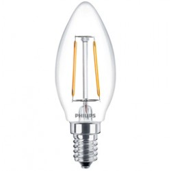 CLA LEDBulb ND 2-25W B35 E14 827 CL